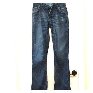 Stitch's Jeans Slim Straight Blue Denim 29 Buckle